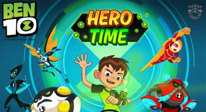 Jogo Ben 10 Hora do Herói