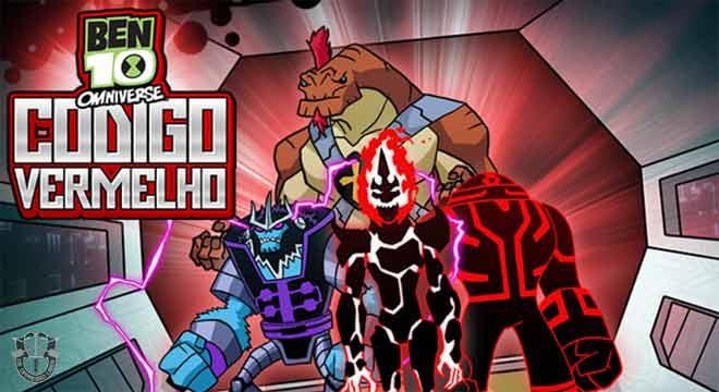 Jogo Ben 10 Omniverse Código Vermelho