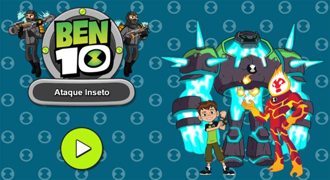 Jogo-Ben-10-Ataque-Inseto