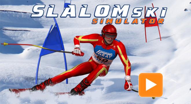 Jogo-Slalom-Ski-Simulator