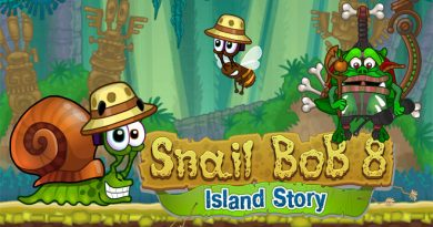Jogo-Snail-Bob-8-Island-Story