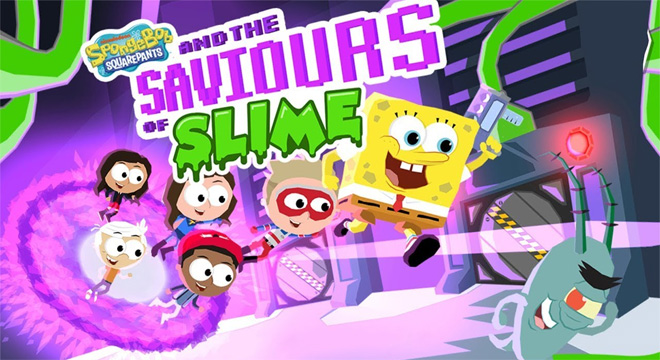 Jogo-Spongebob-and-the-Saviours-of-Slime