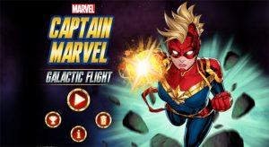 Captain Marvel Galactic Flight