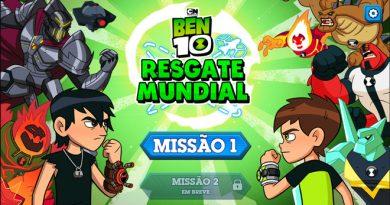 Jogo Ben 10 Resgate Mundial