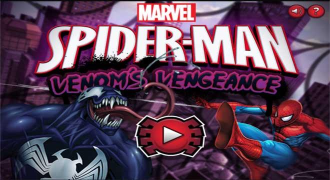 Jogo Homem-Aranha Vingança de Venom