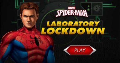 Homem-Aranha Lockdown do Laboratório