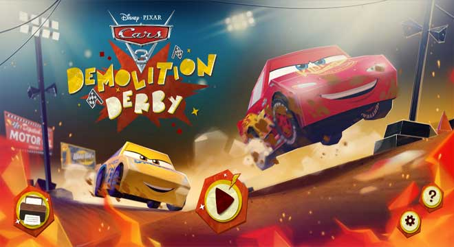 jogo-demolition-derby-carros-3-disney