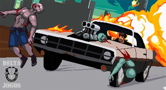 Drive or Die - Zombie Pixel Earn to Racing