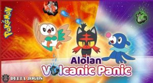 Pokemon Alolan Volcanic Panic Game
