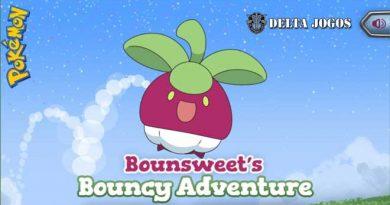 Pokémon Bounsweet's Bouncy Adventure Game