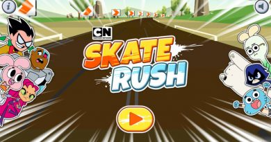 Skate-Rush-Cartoon-Network