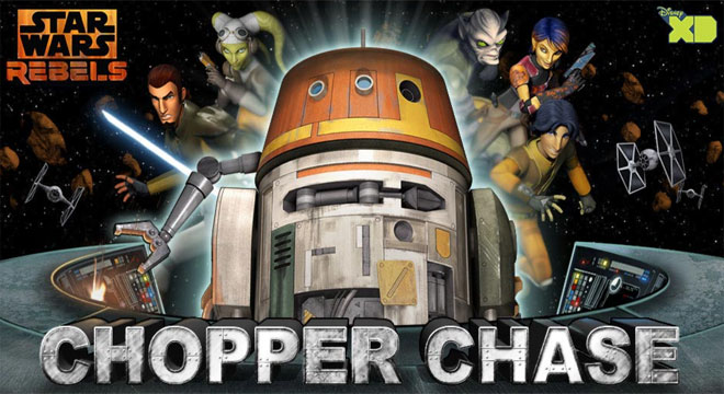 Star Wars Chopper Chase Game