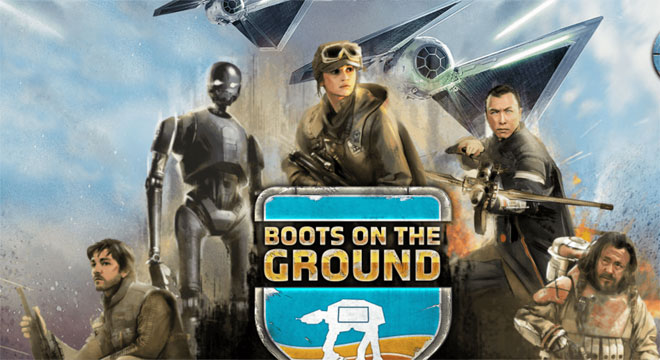 Star Wars Rogue One Boots On The Ground