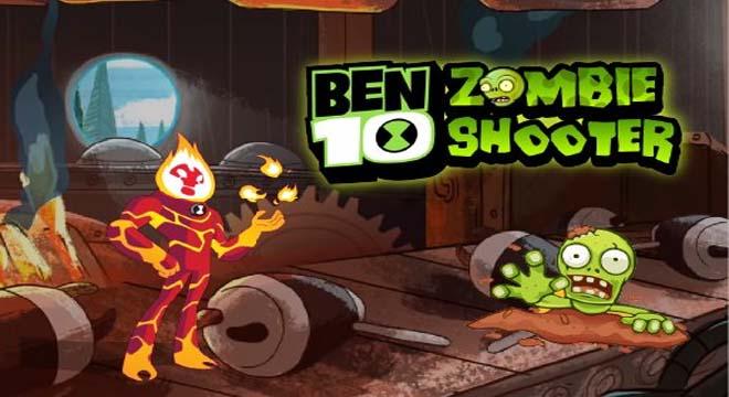 Jogo Ben 10 Zombie Shooter