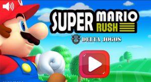 Jogo Super Mario Rush